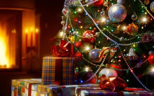 новый год рождество праздник