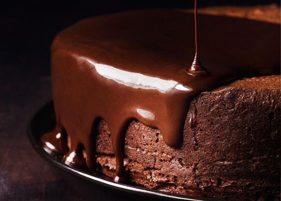 Глазурь для торта из шоколада и масла фото рецепт